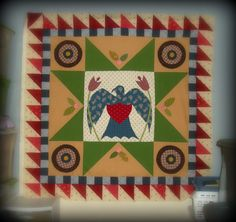 Quilty Folk: Thinking About the Importance of Quilty Blogging and Some Eagle Quilt Progress