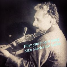 Play your own song. Siku Glacier Ice Vodka on the rocks