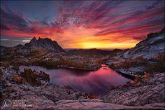 Sunset #sunset Enchanted Sky Fire by Zack Schnepf, via 500px
