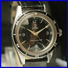 Vintage Omega Diver Seamaster 300 14755 Auto Stainless Stell Mens Watch   eBay
