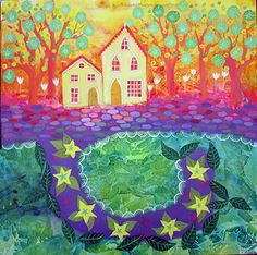 Jessie Lilac ... I want to live in this magical house...