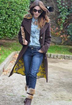 Abrigo Marróno   Miss Sixty , Otoño-Invierno 2012. En el armario de MaPetitebyAna desde el 25-11-2013