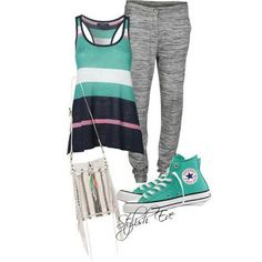 Back to school outfit!! But with just grey pants