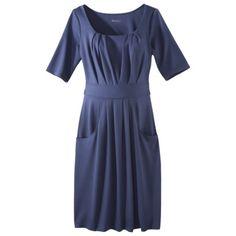 Merona Maternity Elbow-Sleeve Ponte Dress - Assorted Colors