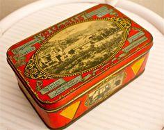 Vintage cookie box