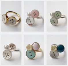 button rings bahahaha christmas for amelia considering her fear of buttons