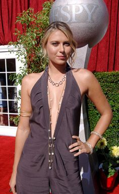 Maria Sharapova at an event for ESPY Awards Yuri, Maria Sharapova Hot, Maria Sarapova, Espy Awards, Tennis Players Female, Sport Tennis, Tennis Stars, Charlize Theron, Sport Girl