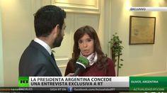 """Piedra del Aguila.-: CFK: """"El problema en la región es que las cadenas ..."""