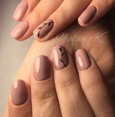 Nails Nails keto pork and coleslaw - Keto Coleslaw Minimalist Nails, Stylish Nails, Trendy Nails, Diy Nails, Cute Nails, Natural Nail Art, Nagel Hacks, Neutral Nails, Nagel Gel