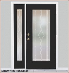 Allure Leaded Glass Privacy Film For Windows, Glass Doors | Wallpaper For Windows