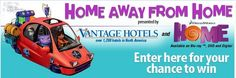 "Enter for your chance to win a road trip in the VANTAGE HOTELS Home Away From Home Sweepstakes or one of the $200 Vantage Hotel certificates, Dream Works ""Home"" DVDs, or a TA & Petro …"
