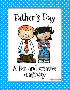 Fathers Day  This cute tuxedo poem book makes a perfect gift for Fathers Day!  It includes a cute, customized eight-page poem with fill-in-the-blanks for the children.  Their dads will love reading what their kids write about them and seeing their drawings as well.