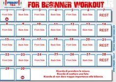 For Beginner Workout - Jillian - Workout-Italia