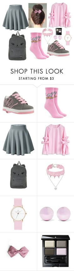 """rollers 02"" by huohu ❤ liked on Polyvore featuring Heelys, Forever 21, Chicwish, Design Lab, Laruze, J.W. Anderson and SUQQU"