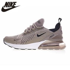 hot sale online 3a3dc fcee1 Nike Air Max 270 Men s Running Shoes ,Original Sports Outdoor Sneakers Shoes,  Green Grey