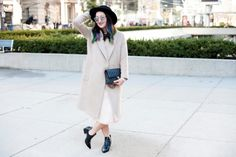How To Wear a Camel Coat - CHANEL, Sosken Studios, Canadian Fashion