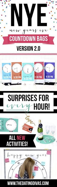 New Year's Eve Countdown Bags 2.0