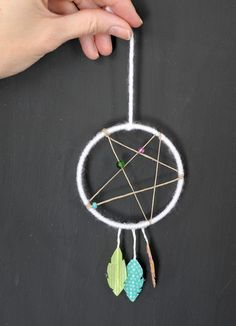 Color meanings symbolism of the native american indians for Dream catcher craft easy