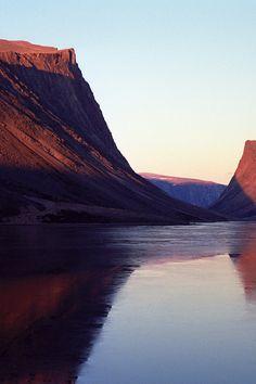 Red 2/3 • Saglek Fjord, Torngat Mountains National Park, Newfoundland and Labrador, Canada • landscape | panorama | panoramic | large format | print | original | photography | image | interior design ideas | wall decor