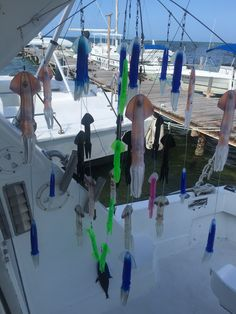 Custom made dredges. Sail fishing in Cancun Mexico and Isla Mujeres.   Simply the best SportFishing charter in Cancun.   #fishingcancun #sportfishingcancun #kianahssportfishing  www.deepseafishingcancun.com