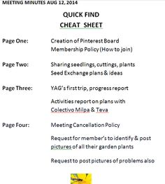 outline of meeting minutes of aug 12th 2014 page numbers correspond to pins