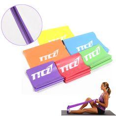 Gym formation bande Pilates yoga Stretch résistance Band fitness élastique ~PL