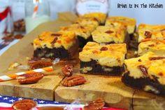 Brownie Marbré Chocolat, Noix de Pécan & Caramel au Beurre Salé - Brian Iz In The Kitchen