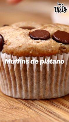 Bien Tasty, Comida Diy, Cake Recipes, Dessert Recipes, Deli Food, Cupcakes, Cooking Recipes, Healthy Recipes, Easy Desserts