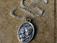 Catholic Jewelry. Baptism Gift. Holy Family. by BaptismGift