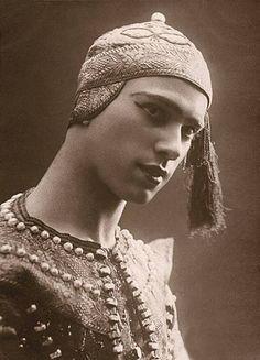 Vaslav Nijinsky, Russian danseur. Friend of Harry Kessler in Paris during the great years.