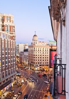"""The section of the Gran Via in Madrid that runs from the Plaza Callao to Plaza España, was once known and highly attended for having many movie theatres along the way. Today, the """"Broadway of Madrid"""" as it is popularly called, features some of those old buildings, now fully renovated as musical theaters.  From its beginning at Alcalá Street to end, at Plaza España, la Gran Via de Madrid promises it visitors a wide variety of entertainment, shopping and some """"can't miss"""" true Spanish…"""