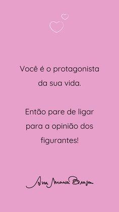 Positive Phrases, Motivational Phrases, Inspirational Quotes, Story Instagram, Instagram Blog, Mantra Diario, Self Esteem, Sentences, Quotations