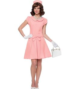 Pink Jackie O First Lady Womens Costume