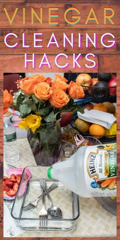 Best Cleaning Products, Household Cleaning Tips, Household Cleaners, House Cleaning Tips, Green Cleaning, Spring Cleaning, Cleaning Hacks, Heinz Vinegar, Vinegar Uses