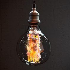 How beautifully a light bulb burns out in slow motion Light Art, Light Bulb, Funny Faces Images, Oddly Satisfying, Dark Photography, Funny Video Memes, Simple Art, Trending Memes, Amazing Art