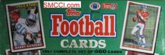 1991 Topps NFL Football Cards Unopened Factory Set (660 different cards) - Includes Rookie Cards and cards of top NFL stars including Emmitt Smith, John Elway, Barry Sanders, Dan Marino, Joe Montana, Jerry Rice, Troy Aikman, and dozens of other top superstars! by Topps. $49.99. Factory sets make great gifts for sports fans young and old! Loaded with stars including Emmitt, Rice, Elway, Aikman, Montana, Bo Jackson, Sanders, Marino and many others! This year is inex...