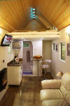 Small House Interiors remolques convertidos en casas pequeñas | que, forma and movimiento