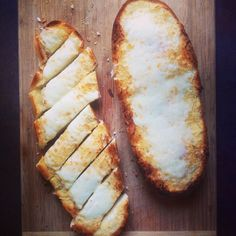 """Hello, cheesy garlicky goodness.  #shouldIblogit? #instayum #foodblog"""