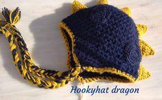 dragon hat for boy crochet