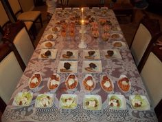 worldclasscookin Linda Bonwill This was a Gourmet Buffet Party I did at my house for our 25th Wedding Anniversary.