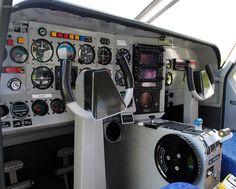 cockpit @kilkenny airport