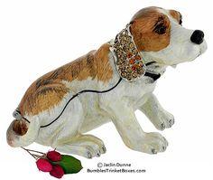 Trinket Box: Beagle Puppy Dog Box