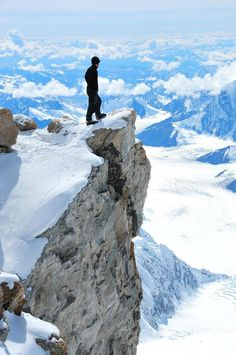 4. Photo taken by a climbing friend from high camp, Denali expidition June 2011 Alaska. Thought I was alone, love this shot – Jon G