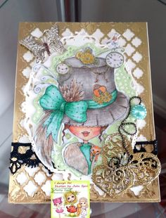 Aunty Sue's Craft Cavern: Julia Spiri Challenge - ANYTHING GOES with optional…