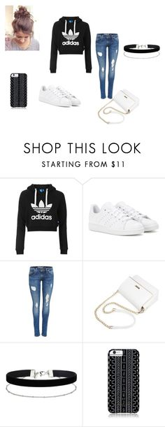 """""""Adidas style"""" by alyssasr013 on Polyvore featuring Topshop, adidas, Miss Selfridge and Savannah Hayes"""