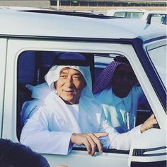 Jackie Chan spotted in #Dubai