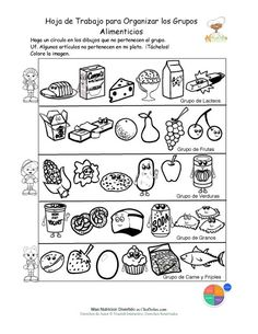 Printable Fill in the Blank Food Pyramid Great for Children as