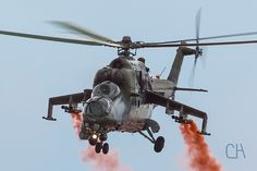 Mil Mi-24 Hind Attack Helicopter (Czech Republic Air Force) | by CH Aviation