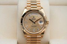 WatchNet: Luxury Time: FS: NIB Rolex 228238 Day-Date 40MM President Diamond Dial