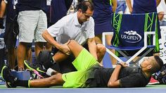 Australia's No.1 ranked men tennis player Nick Kyrgios is rated a 50-50 chance of being fit for the Davis Cup tie against Slovakia.